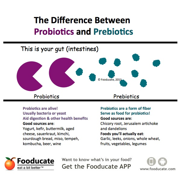 Never Confuse Probiotics with Prebiotics Again