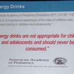 Pediatricians Recommend: ZERO Consumption of Energy Drinks by Kids and Teens