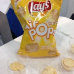 Comparing Lay's New Air Pops to Classic Potato Chips