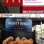 McDonald's Mighty Wings - Not for the Weak Hearted