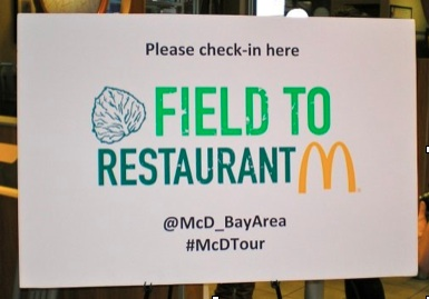 McDonald's Farm to Restaurant Tour