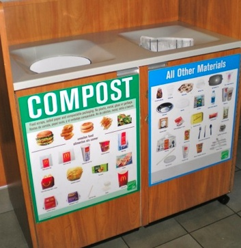 Composting at McDonald's