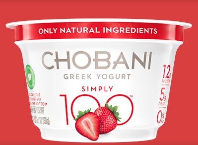 Chobani Simply 100 Strawberry