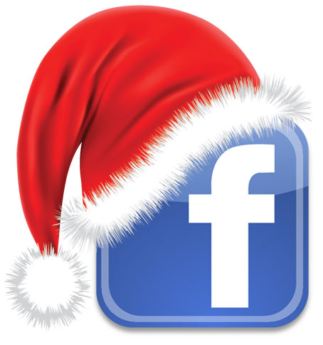 facebook logo christmas