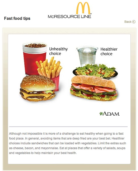 McDonald's Pulls Plug On Internal Website Encouraging Employees NOT to Eat Fast Food