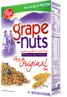 Grape Nuts is Now Non-GMO Verified!