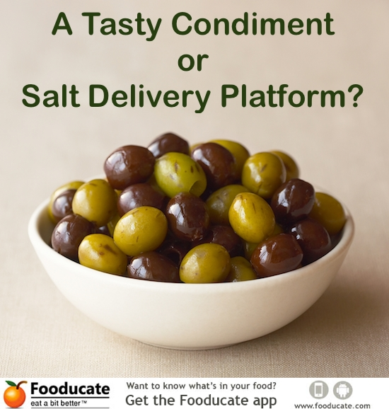 Olives – A Tasty Condiment or Salt Delivery Platform?