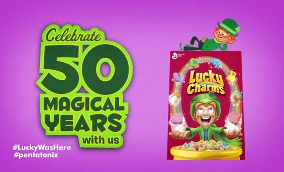 Lucky Charms 50 years
