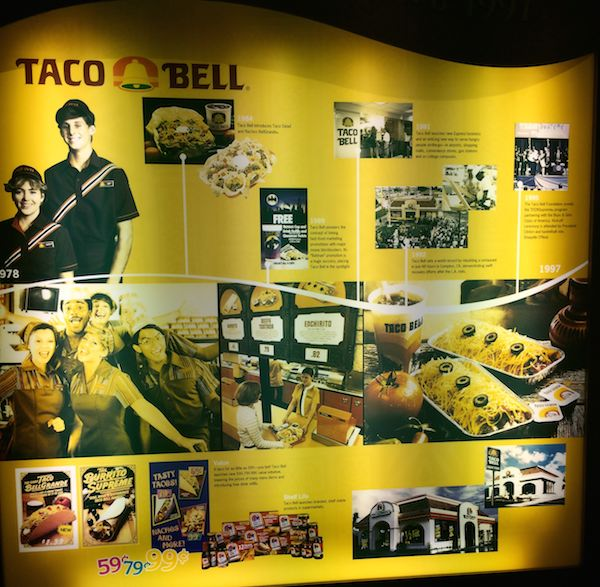 Taco Bell History Murals