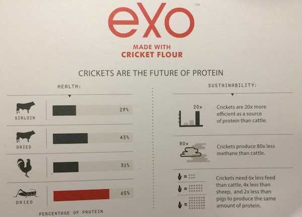 Crickets as Protein - Fact Sheet