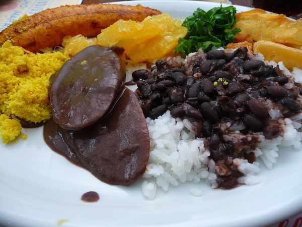 feijoada - typical Brazilian meal