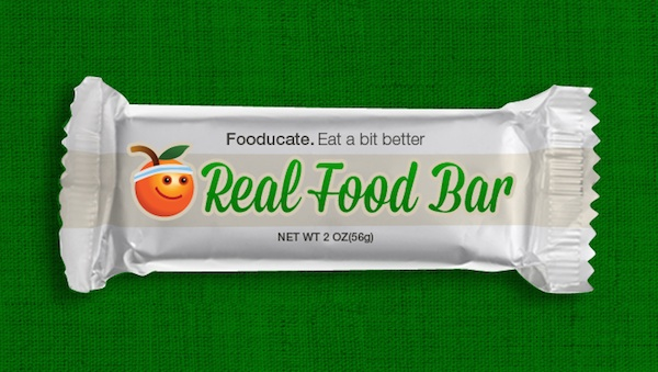 Introducing the Fooducate Real Food Bar