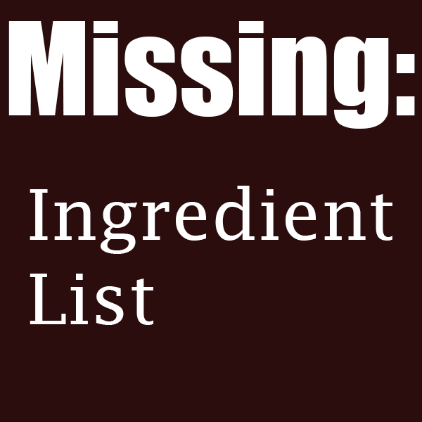 When Companies Hide Ingredient Lists