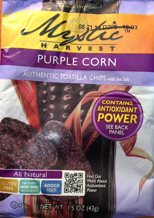 Mystic Harvest Purple Corn Tortilla Chips