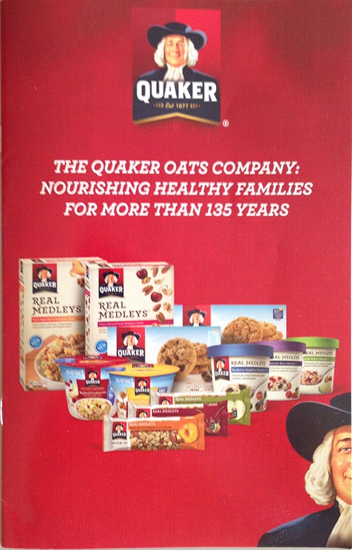 Why Does the Quaker Oats Company Hide Ingredient Information from Dietitians?