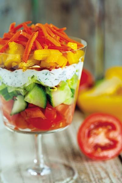 Salad Parfait