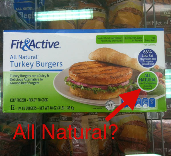 Consumers Confused by Foods Labeled Natural