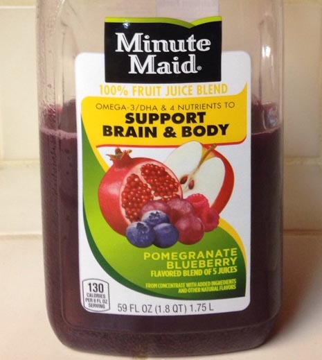 Minute Maid Pomegrante Blueberry