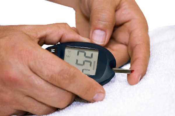 blood glucose test
