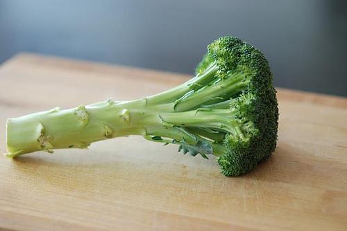 broccoli with stem