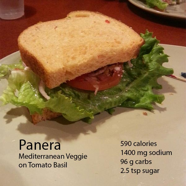 Panera Bread, Worse than a Big Mac?