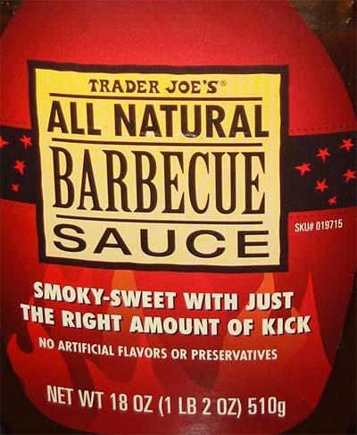 Trader Joe's Barbecue Sauce