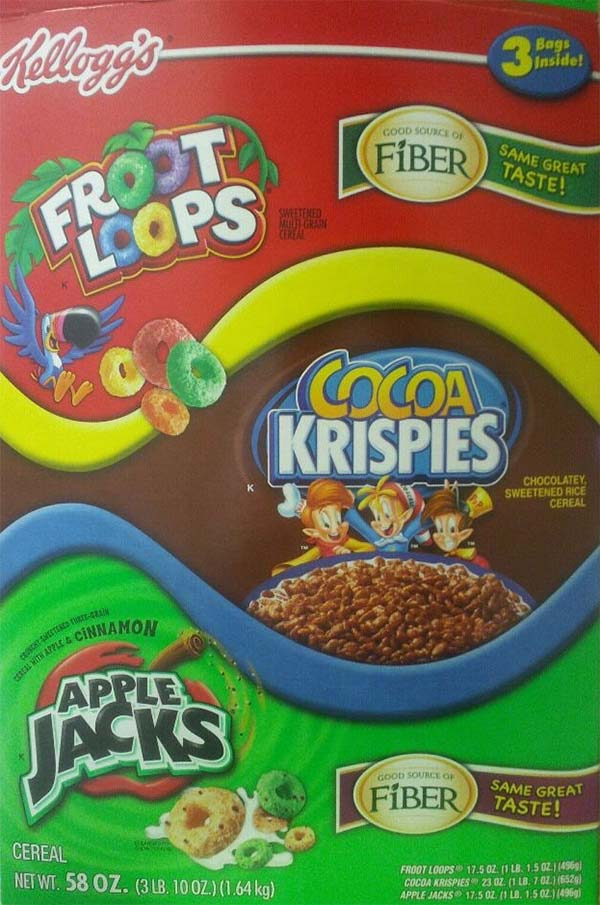 How Surprising: Kellogg's Doesn't Want You to Know About the Sugar in Your Cereal