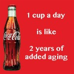 Drinking Sugary Soft Drinks Ages People Faster