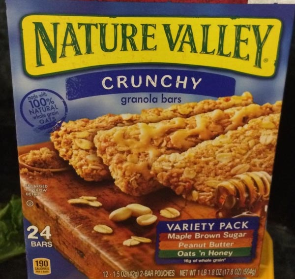 "Nature Valley Can't Boast ""100% Natural"" Any Longer"