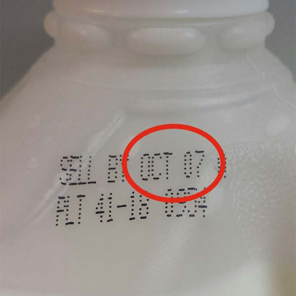 How long does milk last after the sell by date