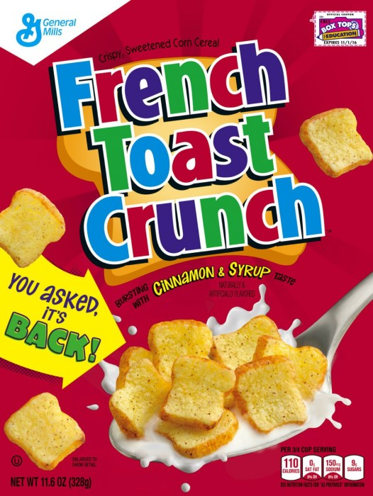 General Mills French Toast Crunch – a Questionable Comeback