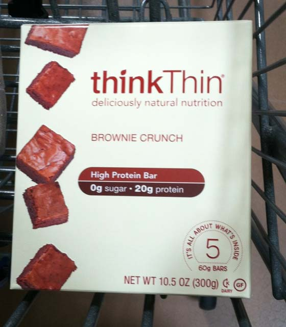Think Thin High Protein Bars Reviewed: Think Highly Processed