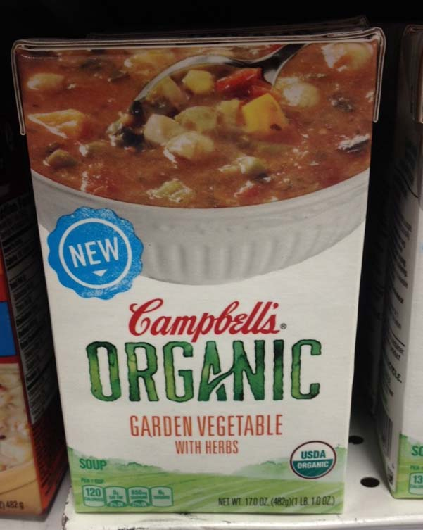 Campbell's Surprises with New Lineup of Organic Soups