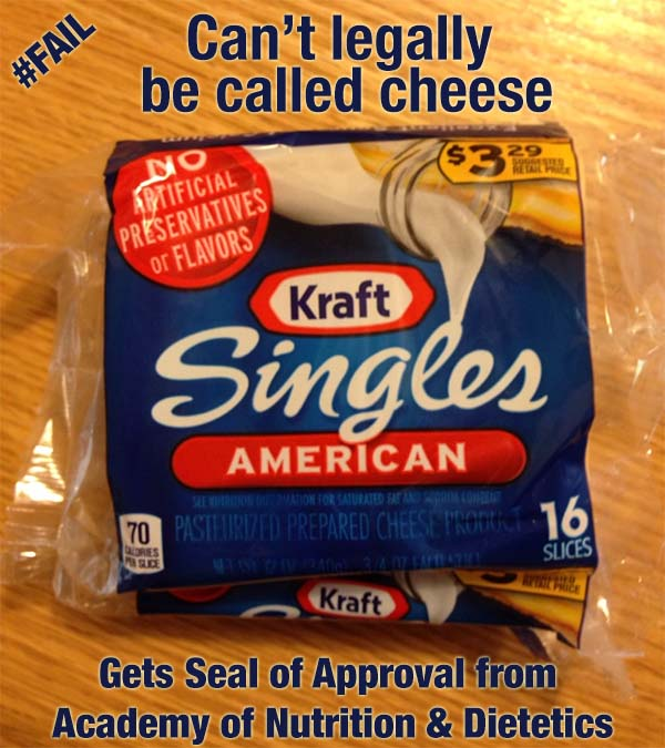 Kraft Singles – Fake Food, Faulty Endorsement