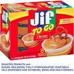 Jif to Go - Portion Controlled Peanut Butter with Baggage