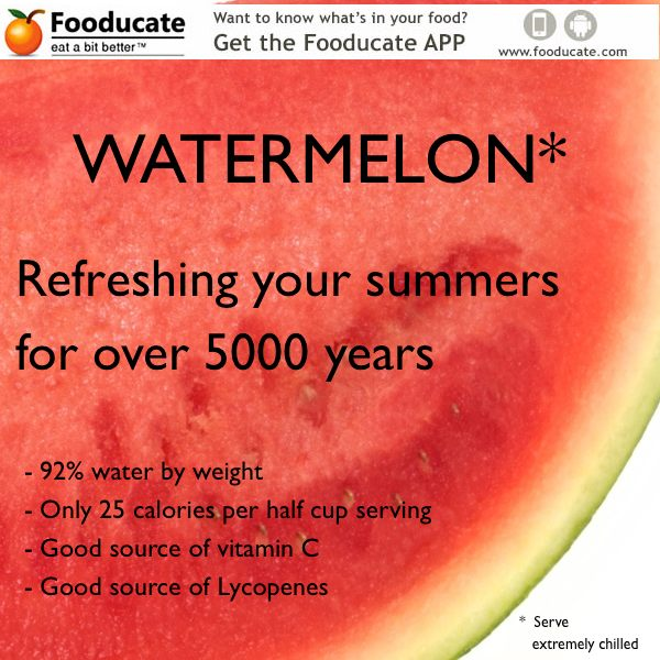 5 Little Known Watermelon Facts