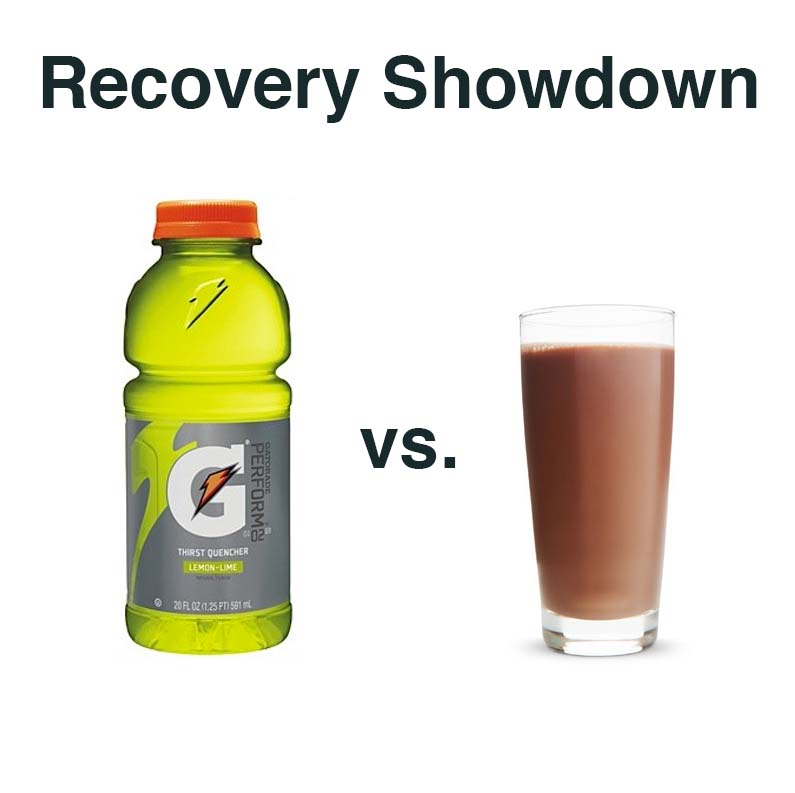 Recovery Drink Showdown: Gatorade or Chocolate Milk?
