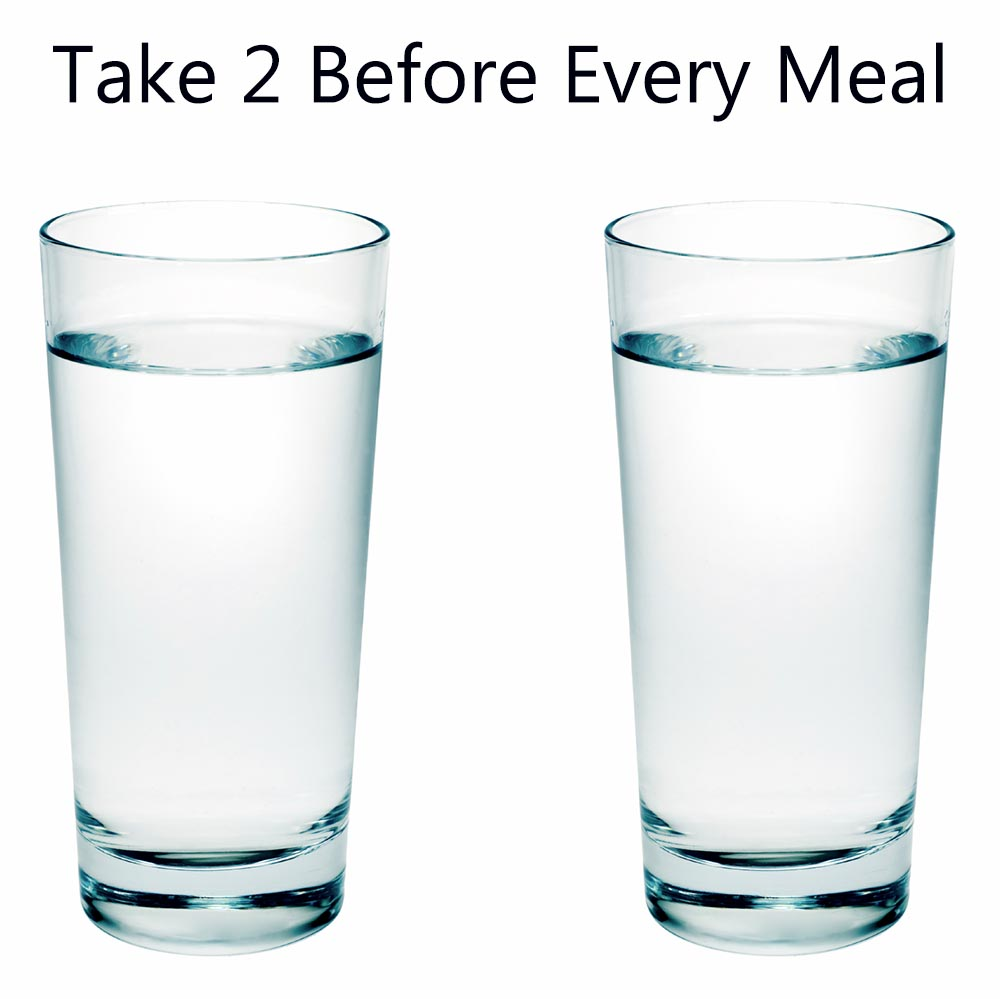 Can 2 Cups of Water Improve Your Weight Loss By 30 Percent?