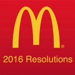 McDonald's Top 7 New Year's Resolutions for 2016*