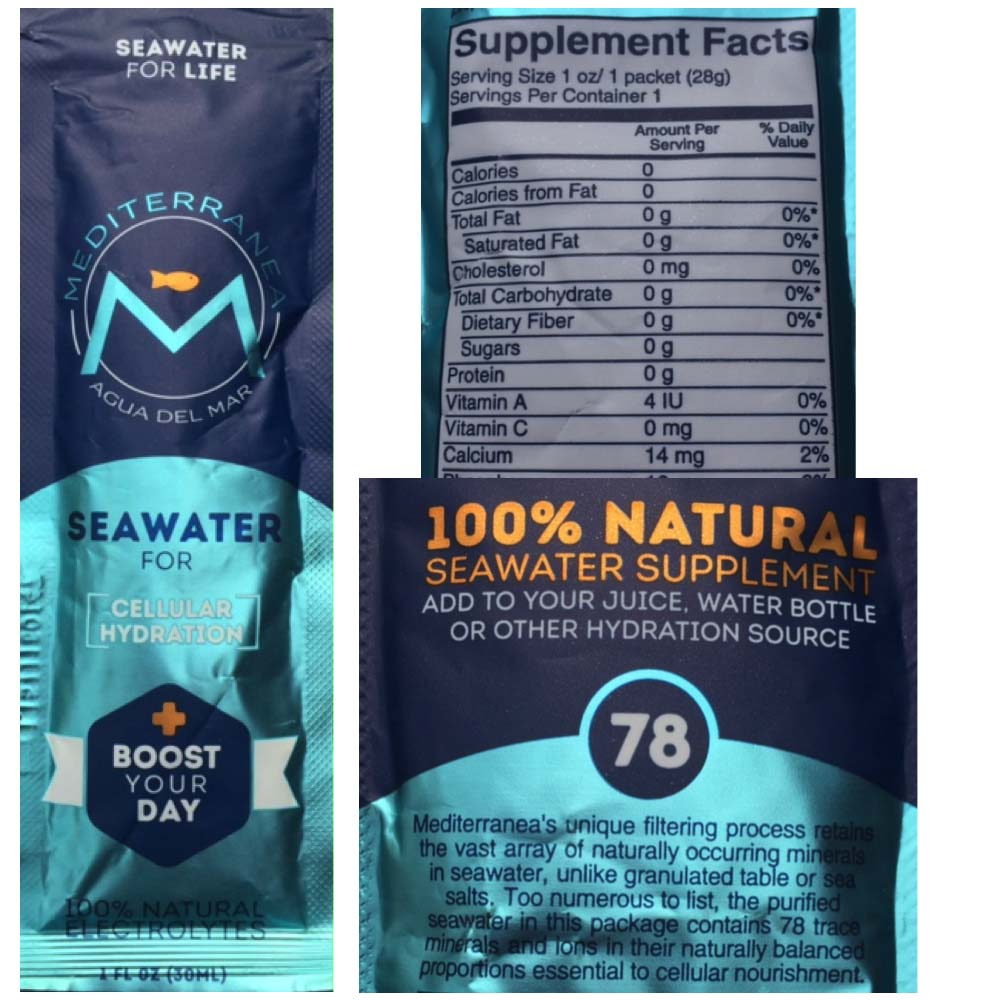 Should We Drink Seawater to Get Our Electrolytes?