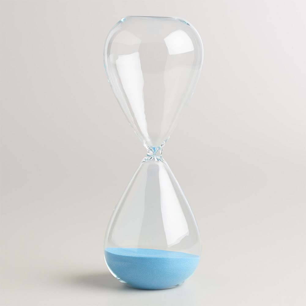 An Hourglass Helped Overweight Kids Lose Weight. Will it Work for You?