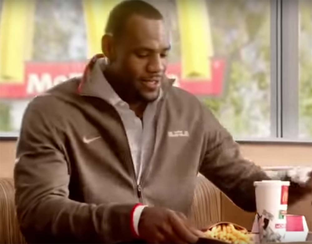 Why do Athletes Advertise Unhealthy Food & Beverages?