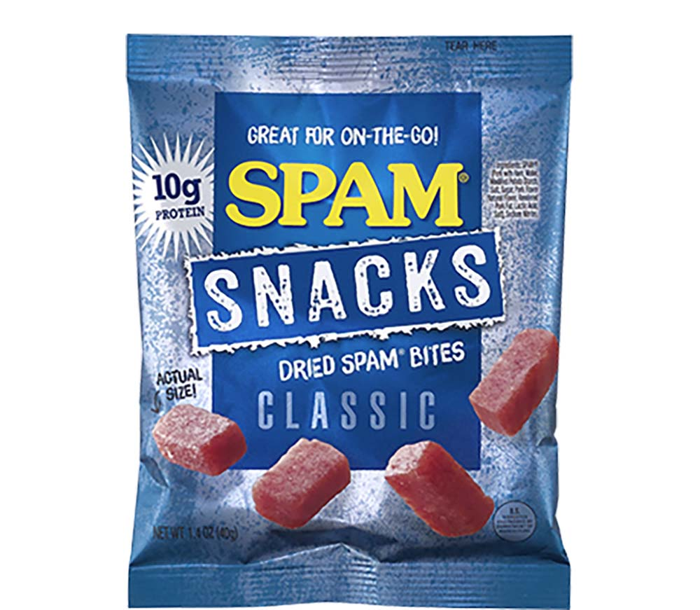 Oh Dear, SPAM is Now a Snack