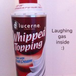 Laughing Gas, a Funny Ingredient in Whipped Cream