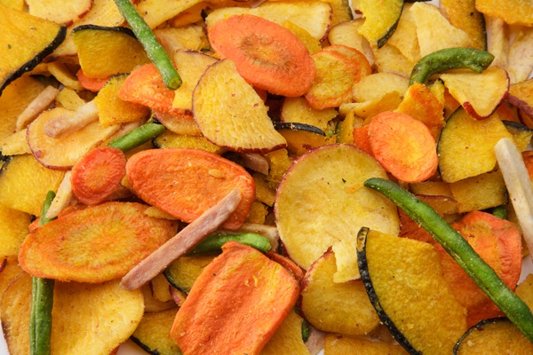 Veggie Chips A Solution For Crunchy