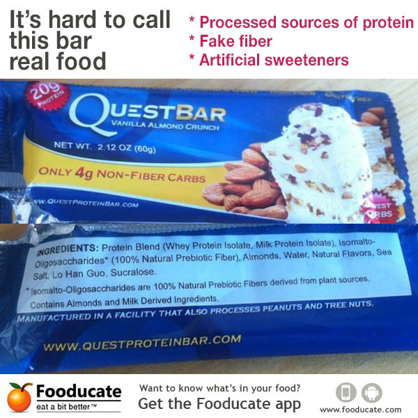 quest protein bars diet